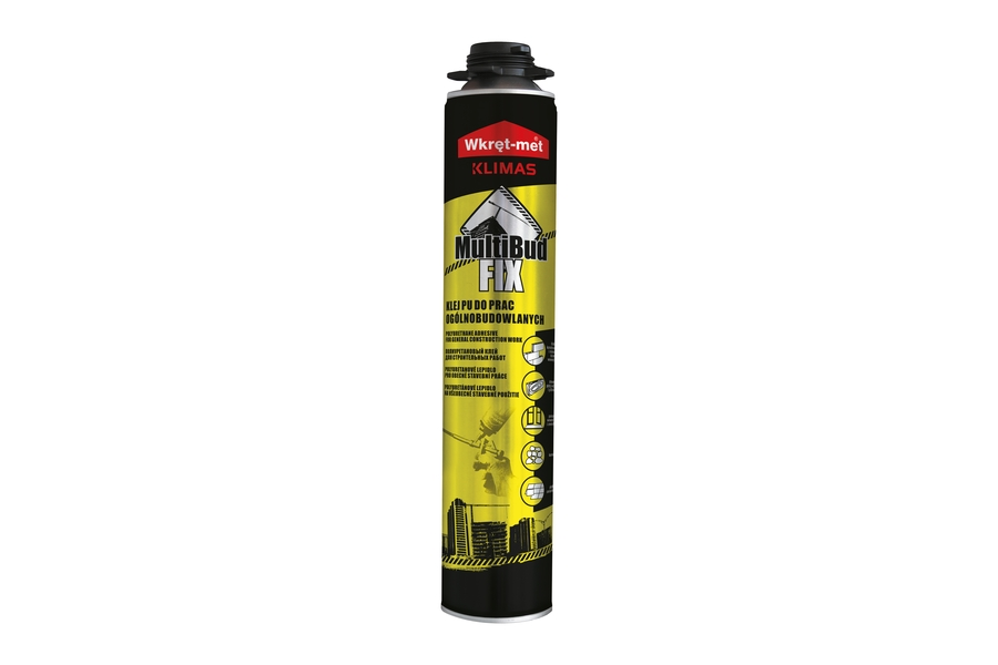 Polyurethane adhesive for general construction work KMB-750 Klimas Wkret-met